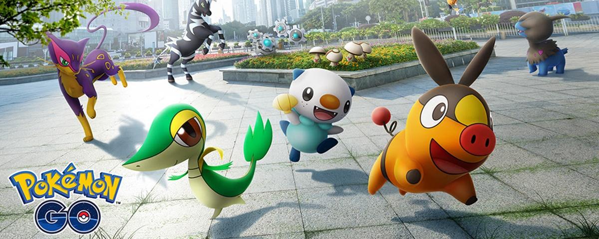 Pokémon GO: criaturas da 5ª geração (Black/White) chegam hoje (16)