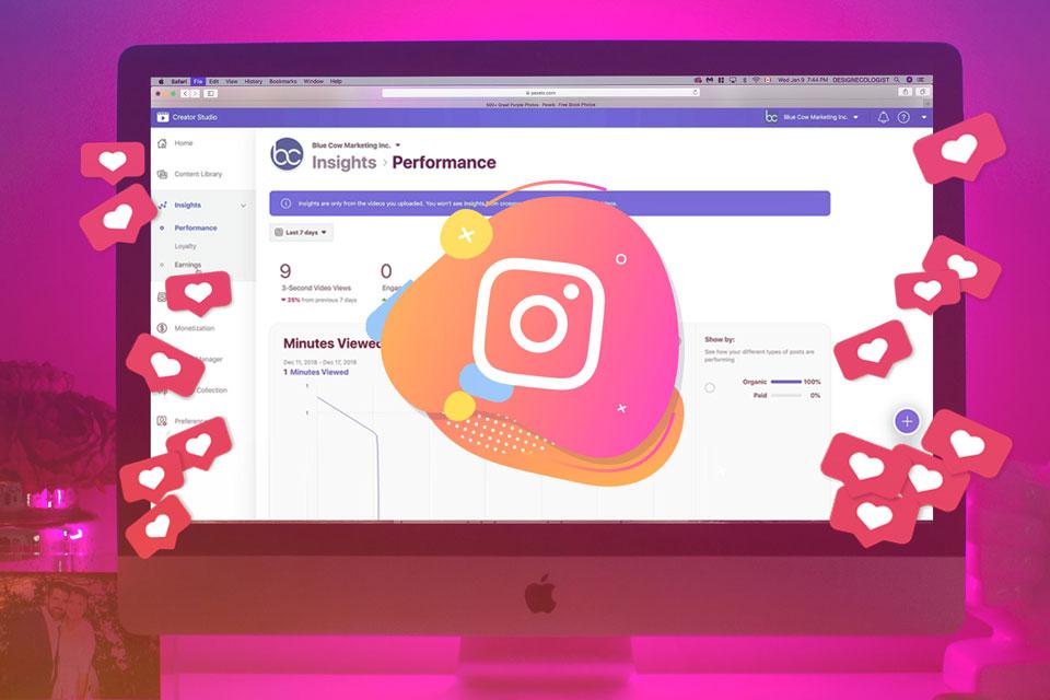 Facebook libera agendamento de posts no Instagram e IGTV para negócios