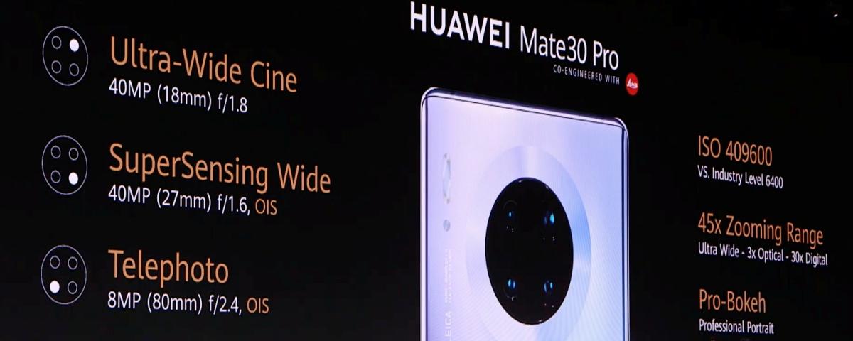 É oficial! Saiba tudo sobre o Huawei Mate 30 Pro