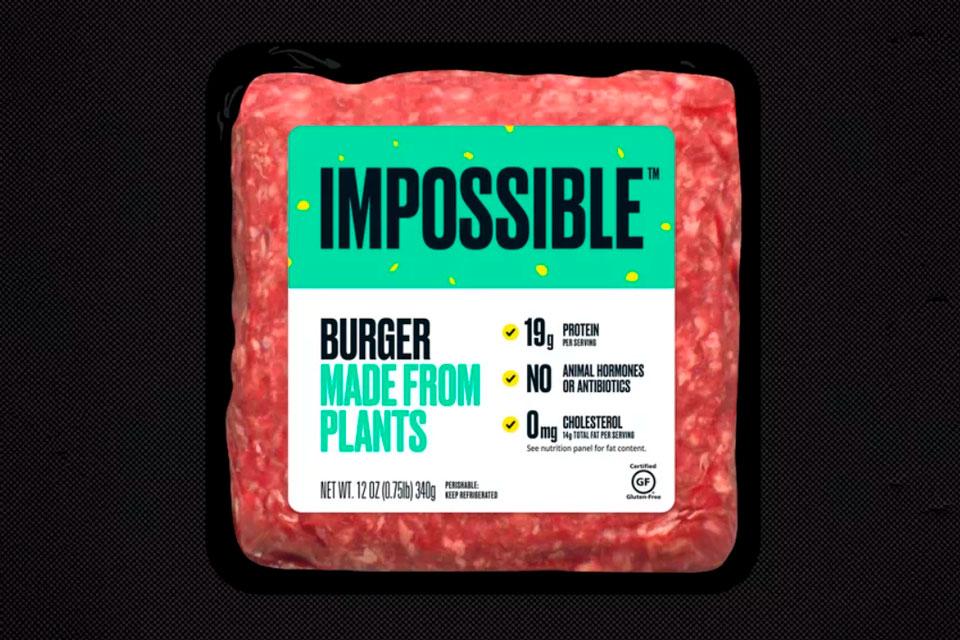 Hambúrguer de 'carne sem carne' chega a mercados amanhã
