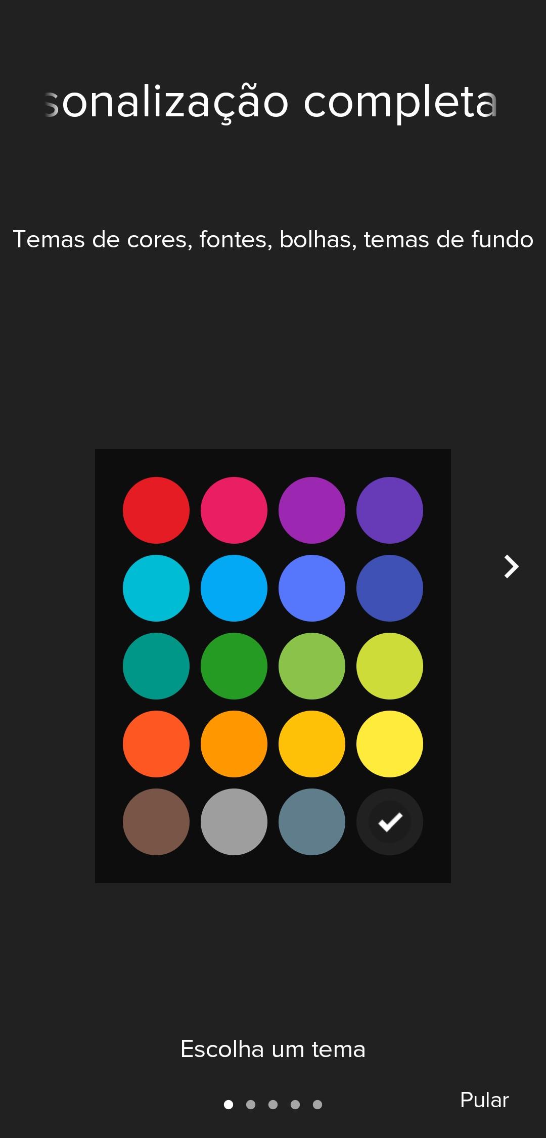 Mei, aplicativo de mensagens SMS - Imagem 1 do software