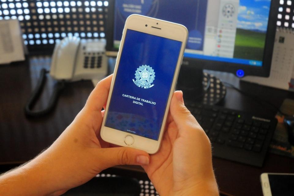 Carteira de Trabalho digital usa CPF para identificar trabalhador