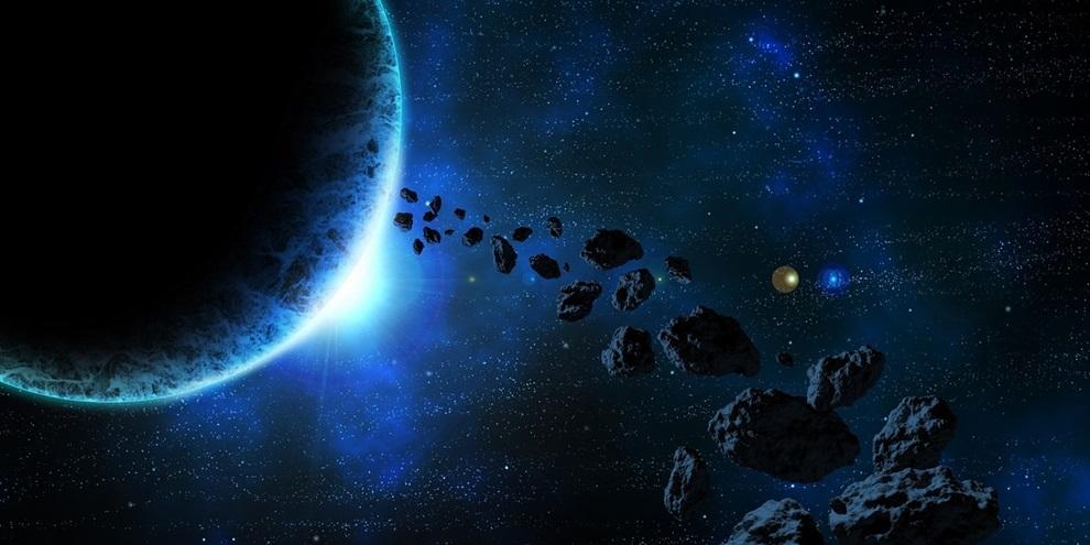 Asteroides (Fonte: Pixabay/Reprodução)