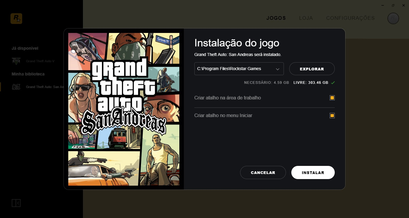 Rockstar Games Launcher - Imagem 3 do software