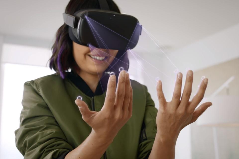 Oculus Connect 6 traz recurso de rastreamento de mãos