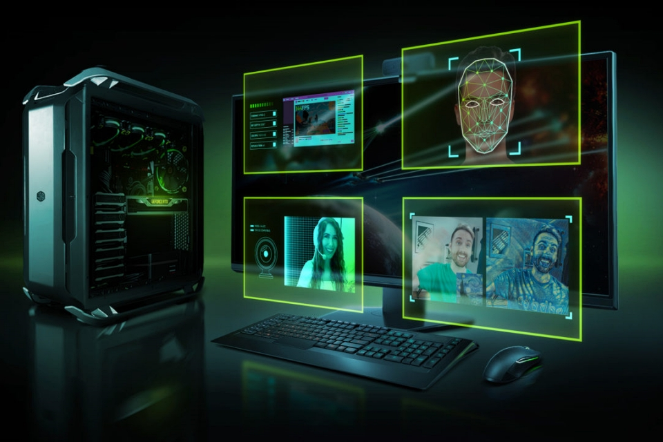 Nvidia anuncia 'chroma key' produzido por IA para placas RTX