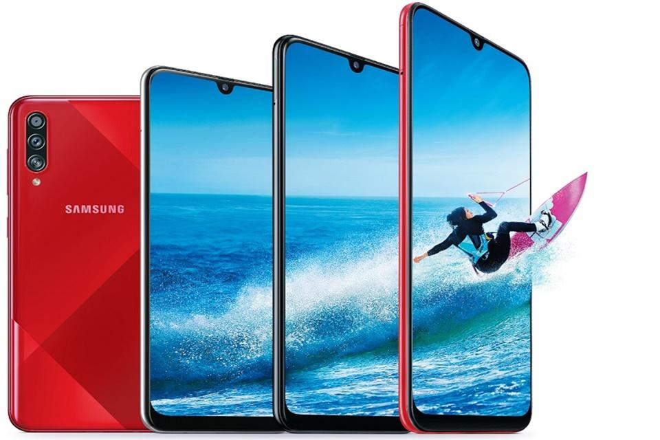 Galaxy A70s: Samsung apresenta mais um intermediário ao mercado