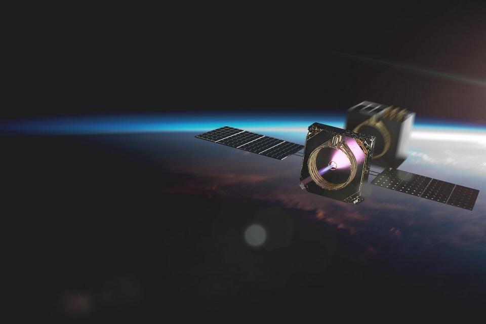 Startup espacial testa com sucesso propulsor à base de água
