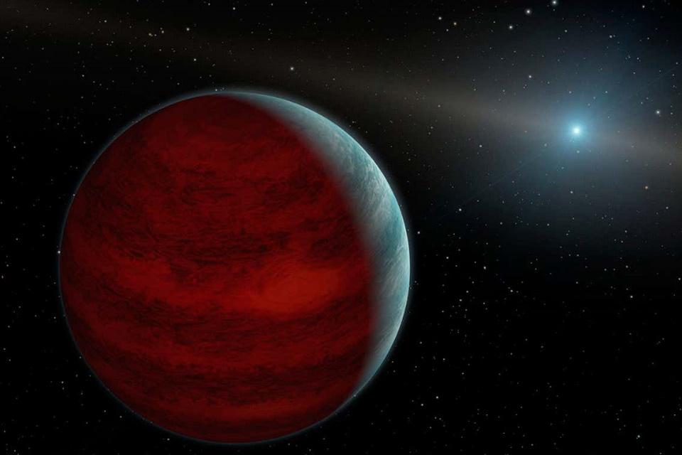 Descoberto planeta gigante inusitado que não deveria existir