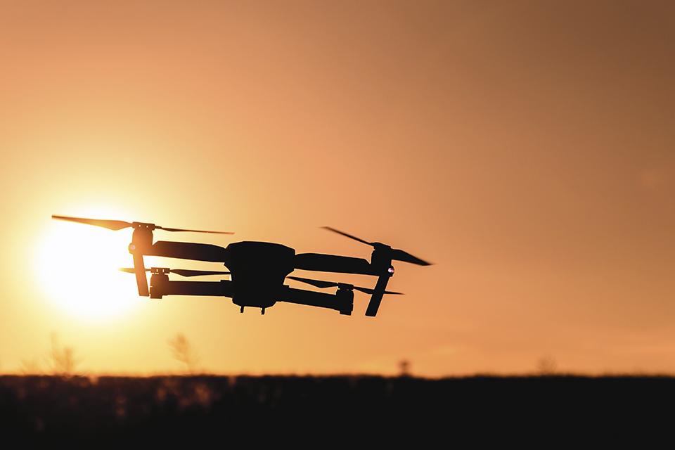Drones ajudam polícia a localizar e prender fugitivo da prisão
