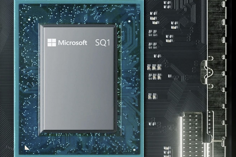 Chipset SQ1 do Surface Pro X mostra guinada nos planos da Microsoft