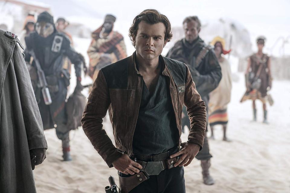Alden Ehrenreich pode reprisar papel de Han Solo no Disney+