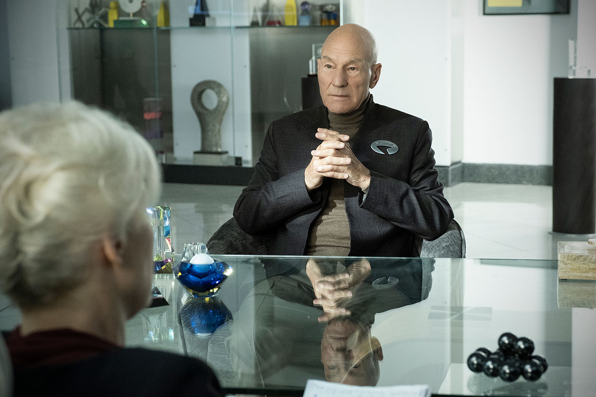 Trailer de Star Trek: Picard reúne antigos personagens das séries