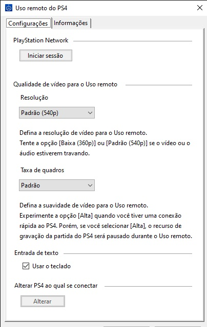 Remote Play - Imagem 2 do software