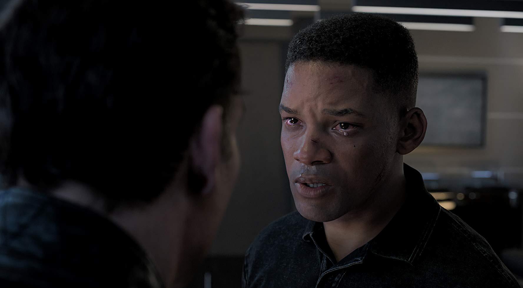 """O """"clone"""" de Will Smith em Projeto Gemini (Fonte: IMDb/Reprodução)"""