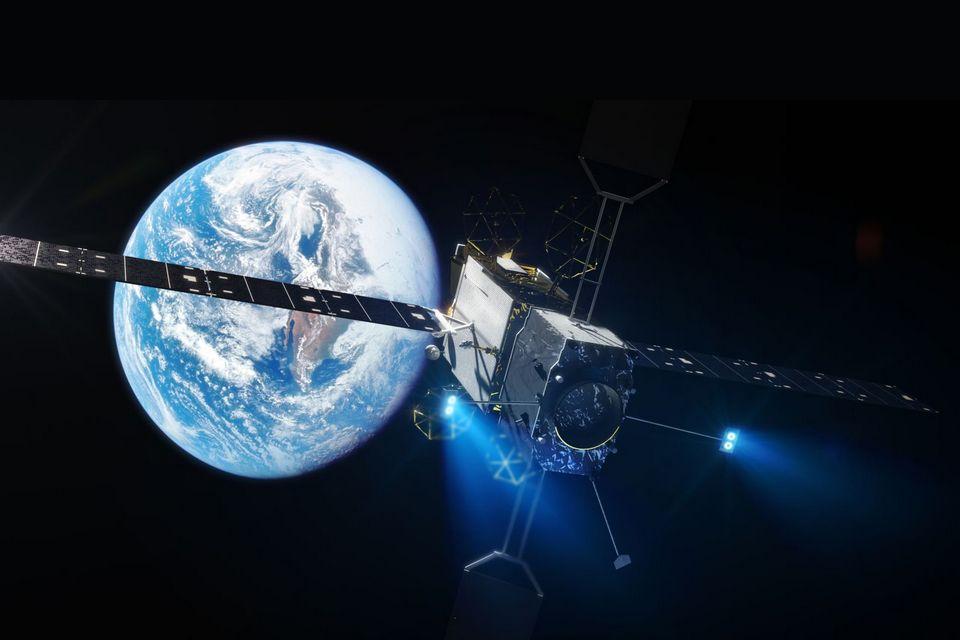 Serviço robótico de manutenção de satélites entra em órbita