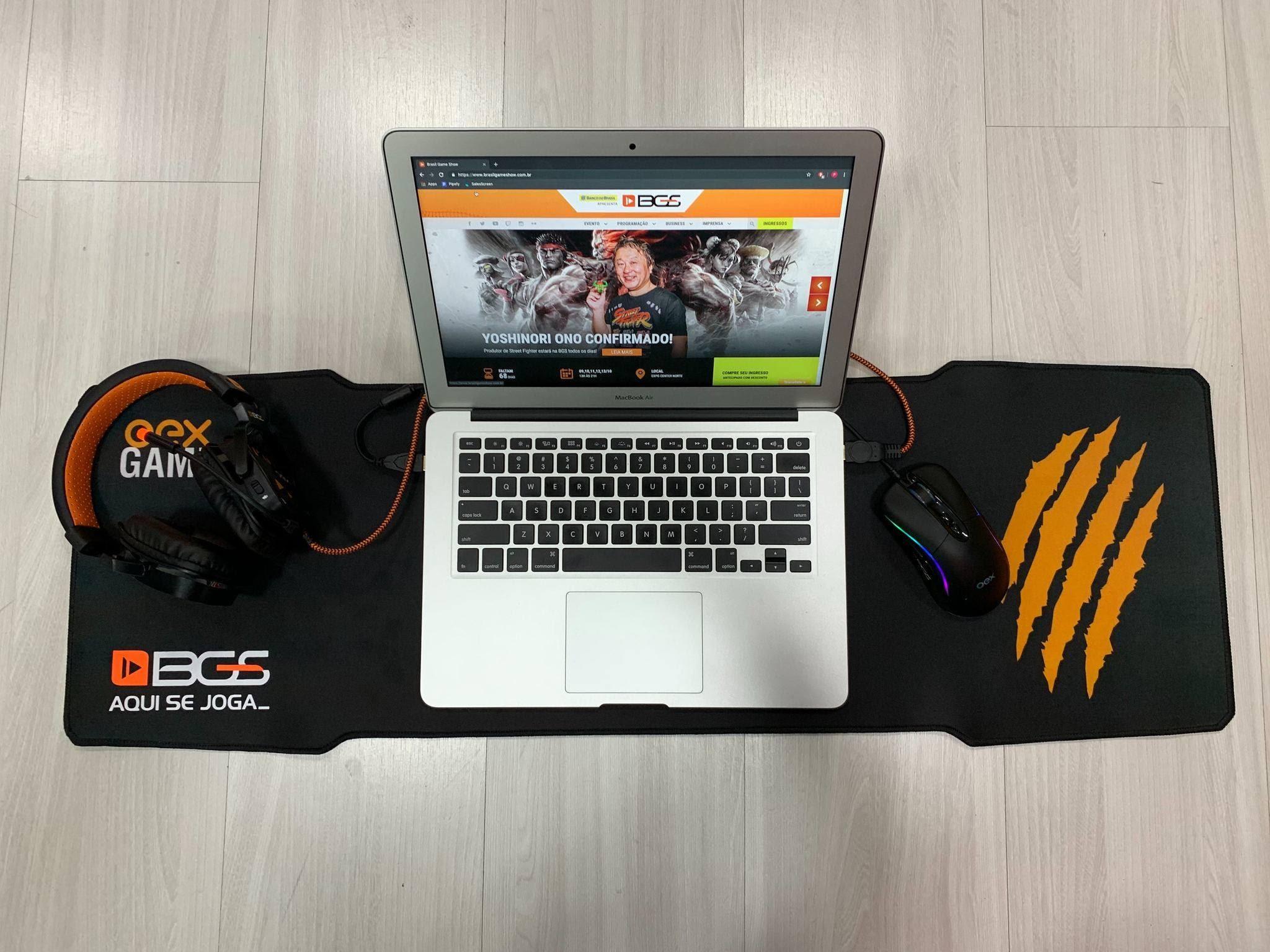 OEX traz lançamentos de teclados, fones e preços promocionais na BGS 2019