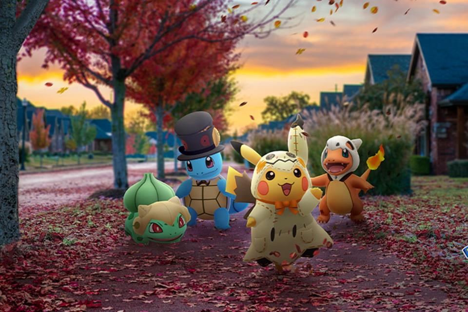 Pokémon GO: evento de Halloween tem Darkrai e iniciais fantasiados