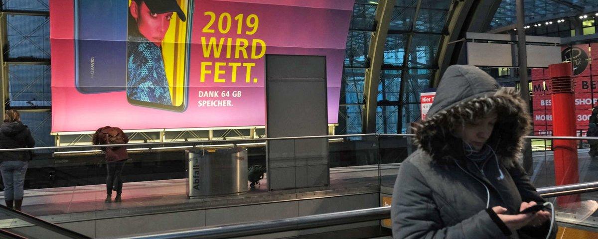 Huawei estará no leilão 5G da Alemanha, apesar da pressão dos EUA