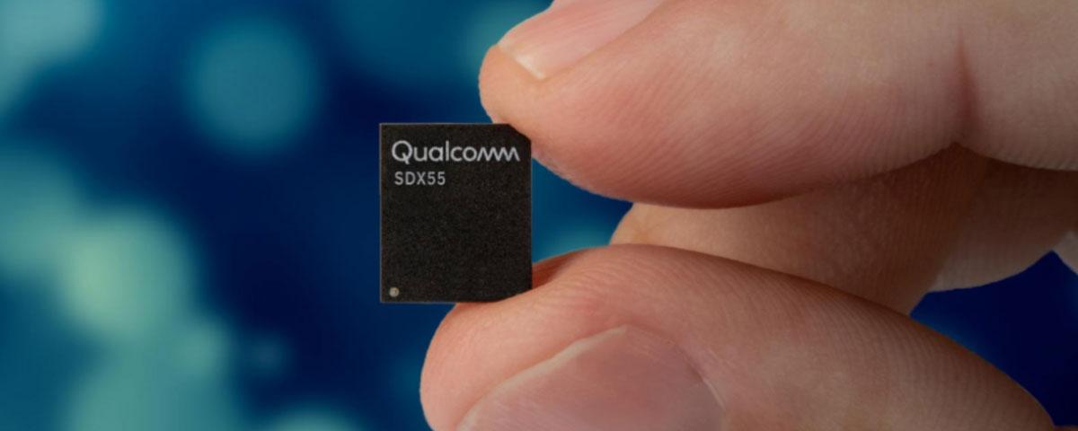 Imagem de: Modem 5G Snapdragon X55 já foi adotado por mais de 30 fabricantes