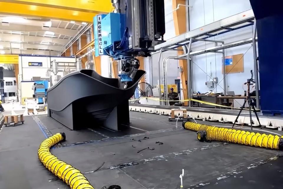 Maior barco impresso em 3D do mundo entra para o Guinness Book