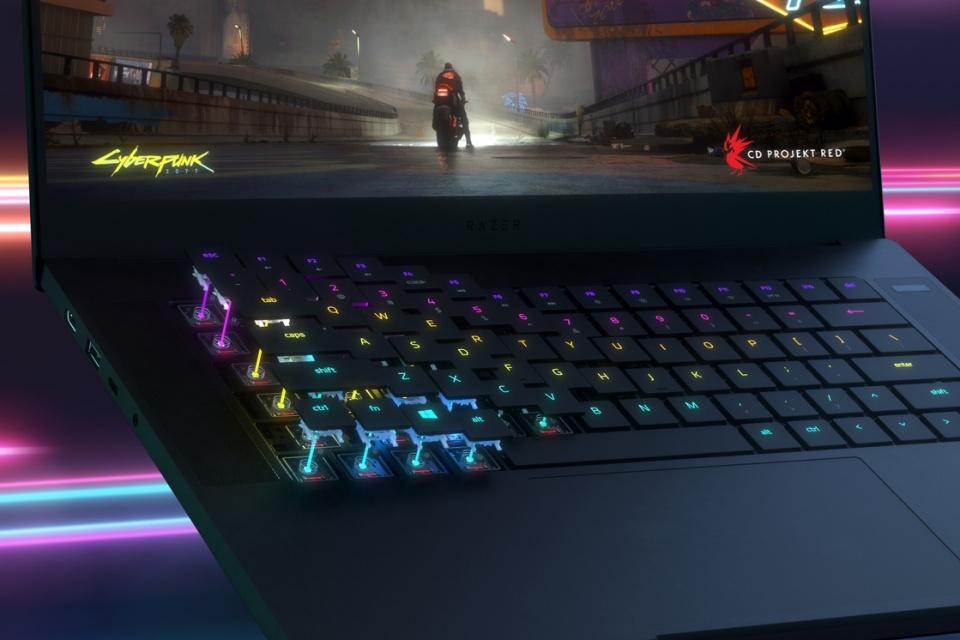 Razer lança teclado gamer óptico para notebooks