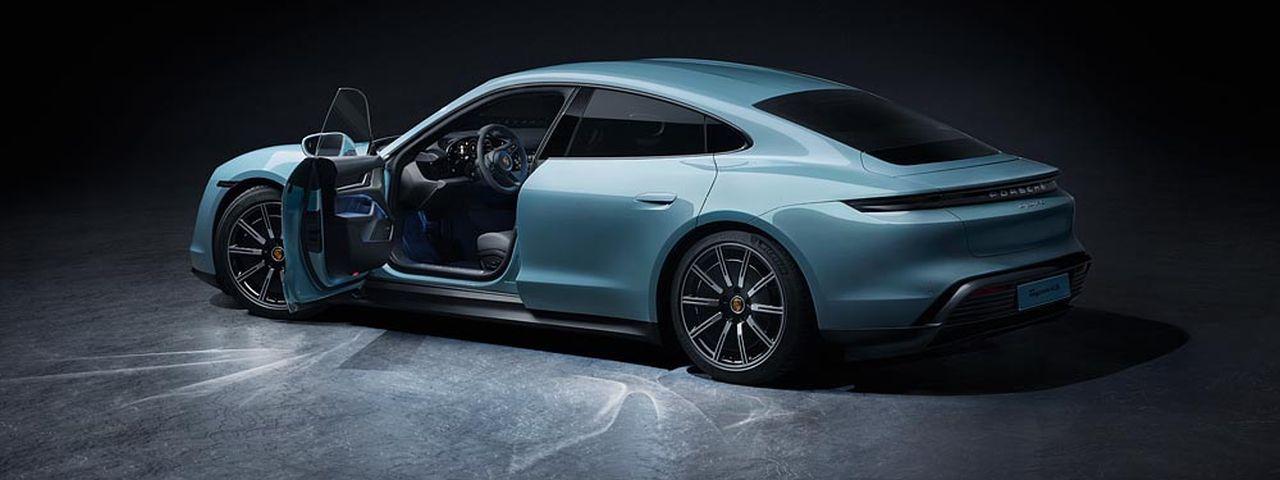 Porsche lança versão mais barata do esportivo elétrico Taycan
