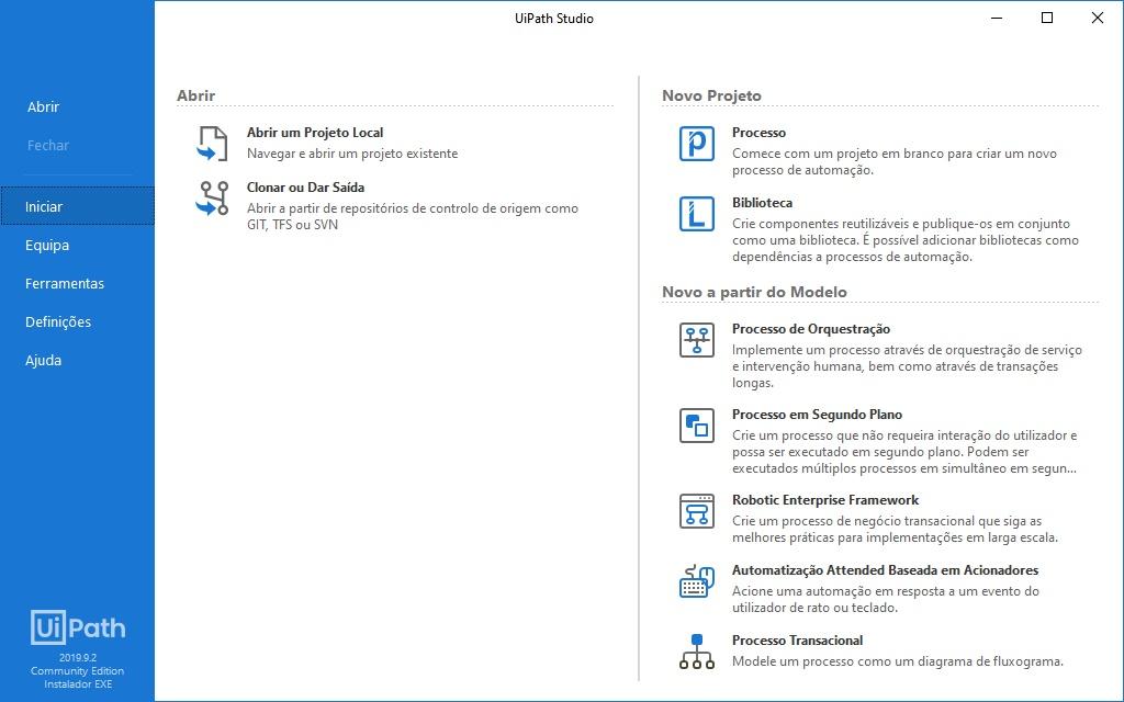 Ui Path - Imagem 2 do software