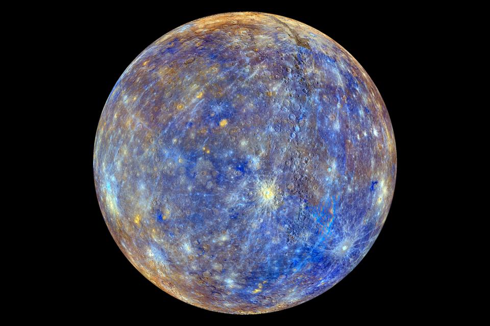Mercúrio é o primeiro planeta do Sistema Solar (Fonte )