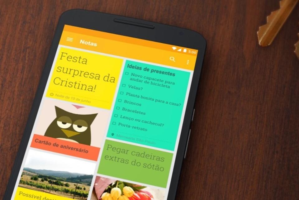 Google Keep ganha atalho útil para novas notas no navegador