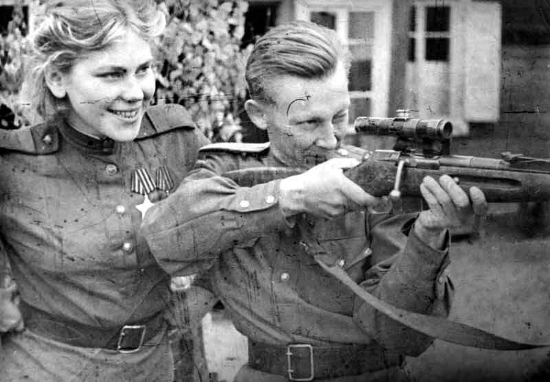 sniper da segunda guerra mundial