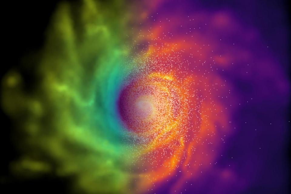 Alternativa à Teoria da Relatividade explica formação de galáxias