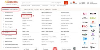 categoria aliexpress
