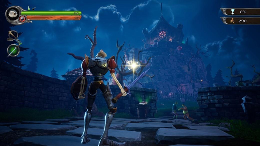MediEvil remake gameplay