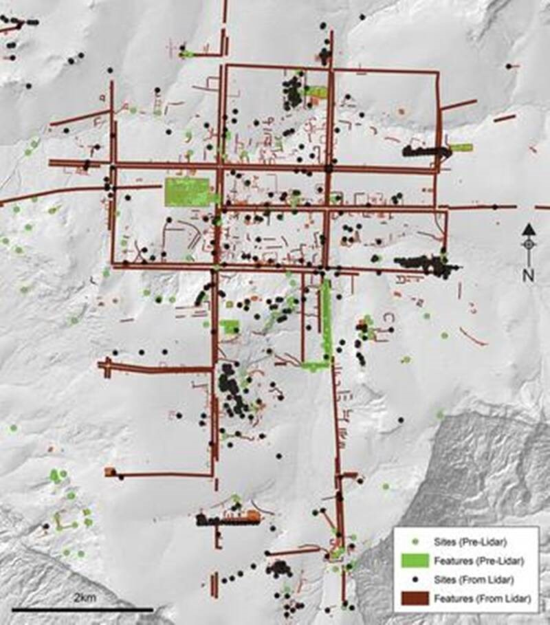 mapa criado pelos pesquisadores