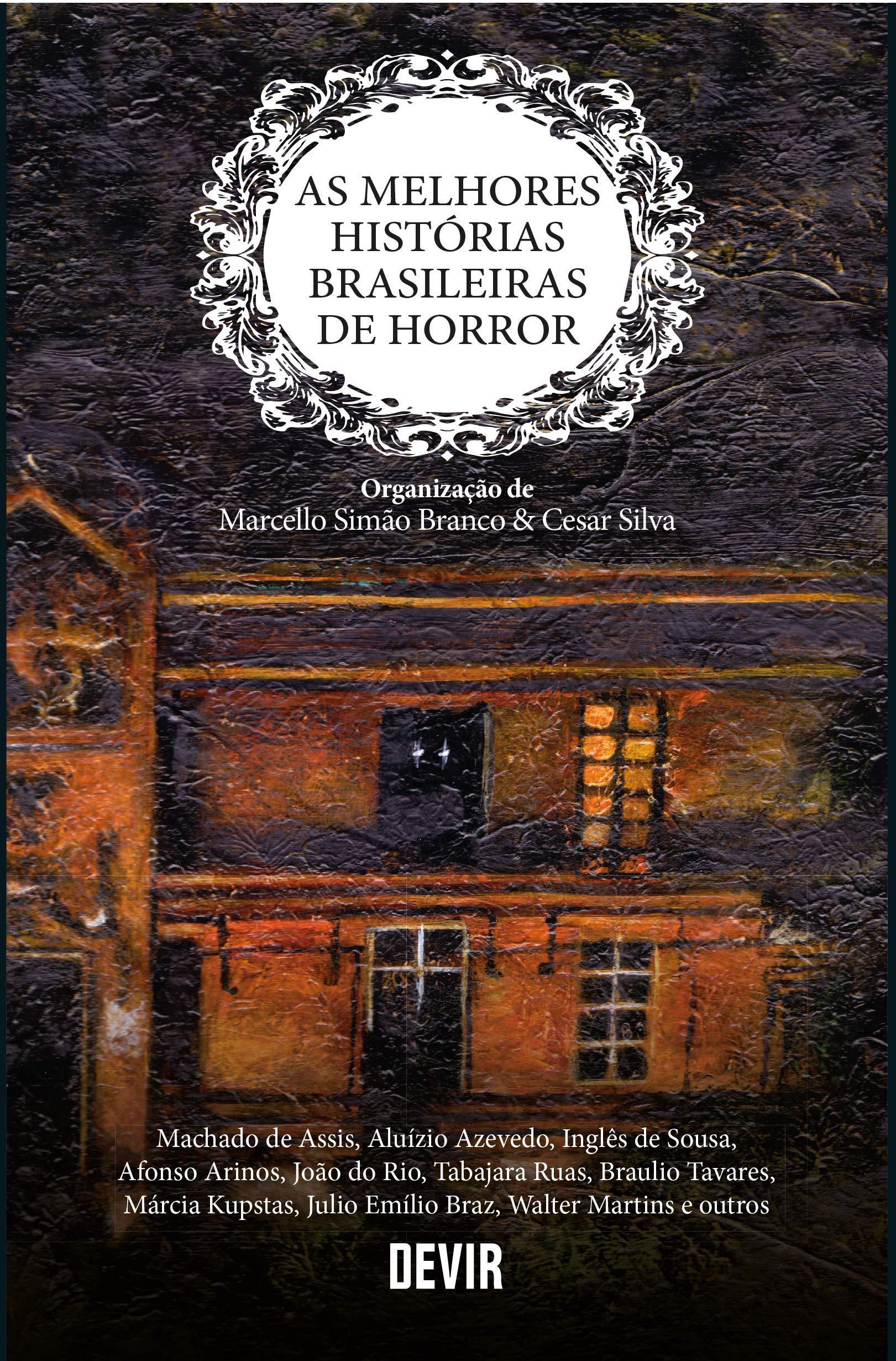 capa do livro terror brasileiro