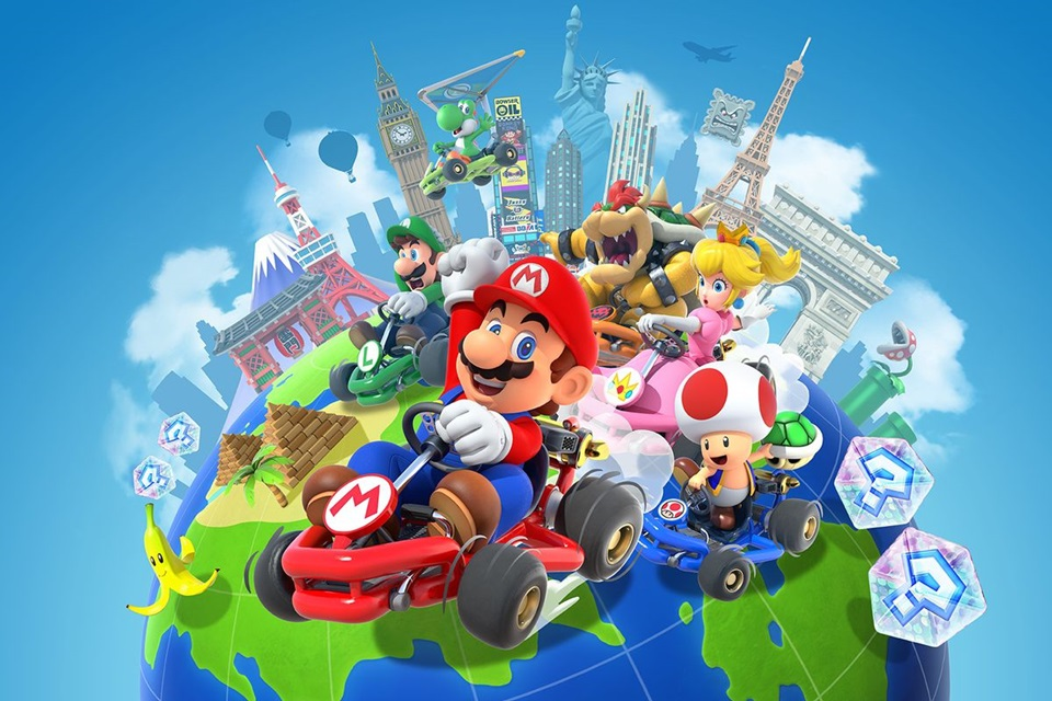Mario Kart Tour: Teste de multiplayer é anunciado para dezembro