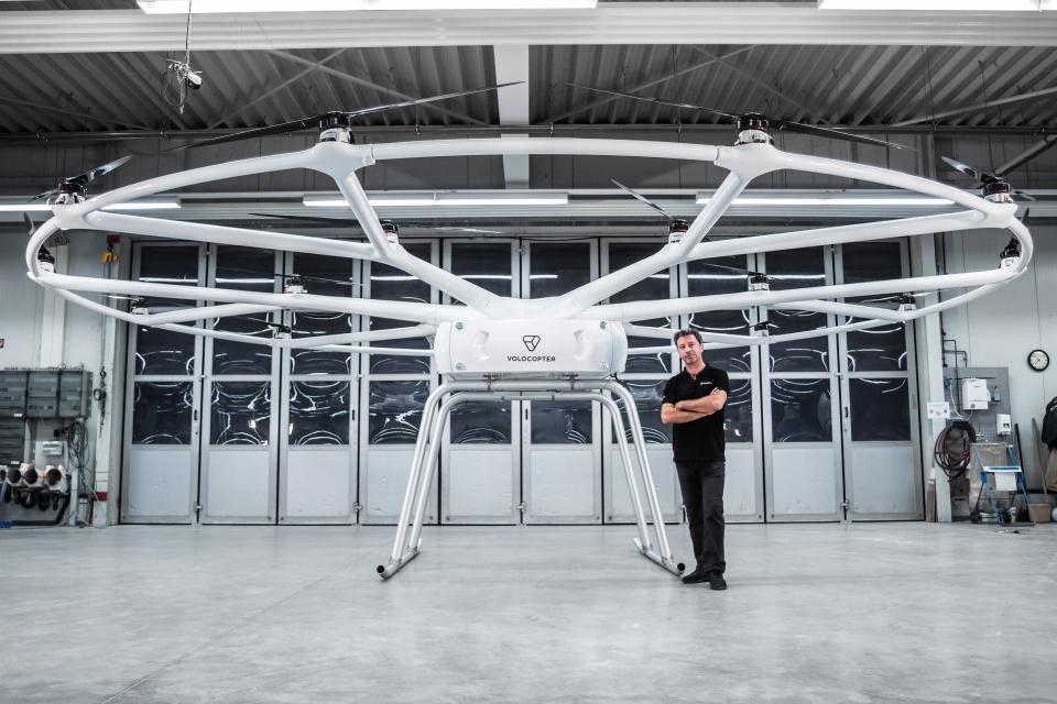 Drone gigante promete até 40 km de transporte com 200 kg de carga