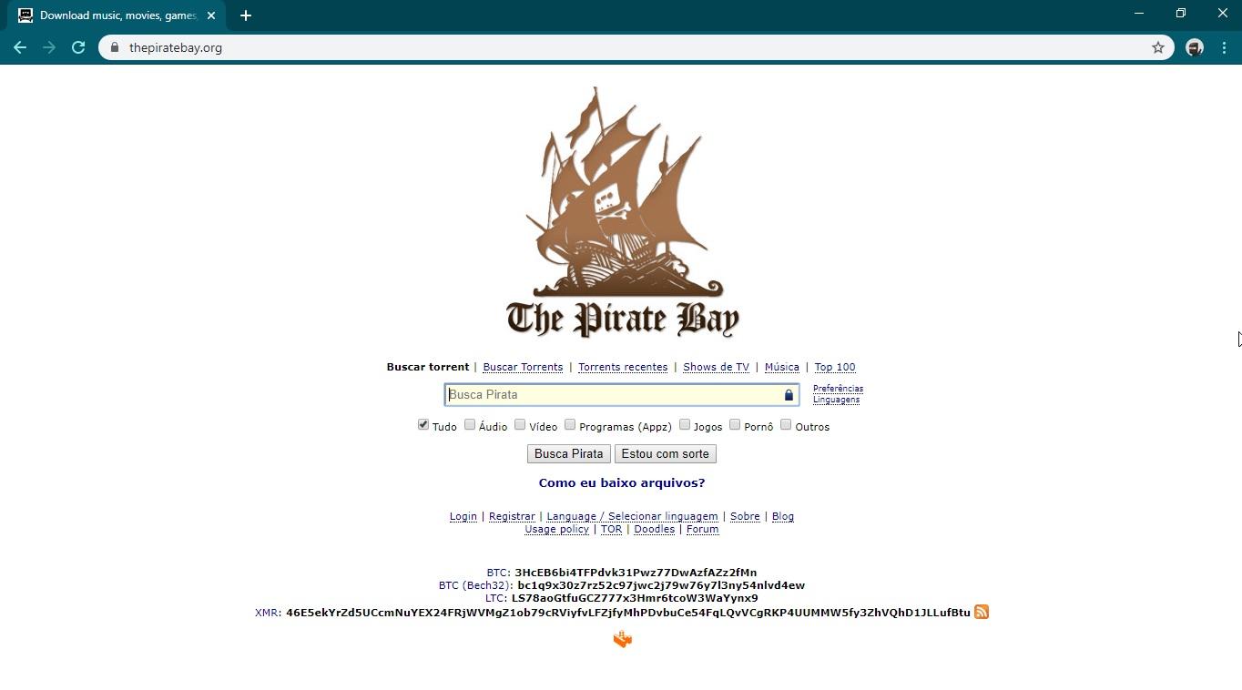 Pirate Bay sofre com instabilidade depois de possível ataque DDoS