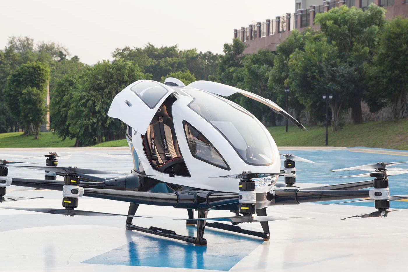 Ehang, firma chinesa de táxis voadores, entra na bolsa de NY