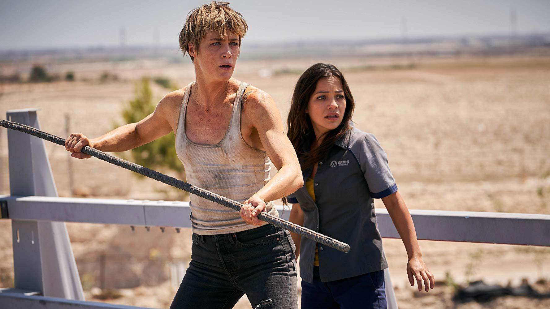 Natalia Reyes e Mackenzie Davis (Fonte: IMDb/Reprodução)