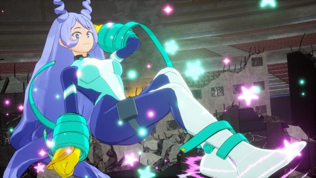 My Hero One's Justice 2 terá Nejire Hado e Tamaki Amajiki