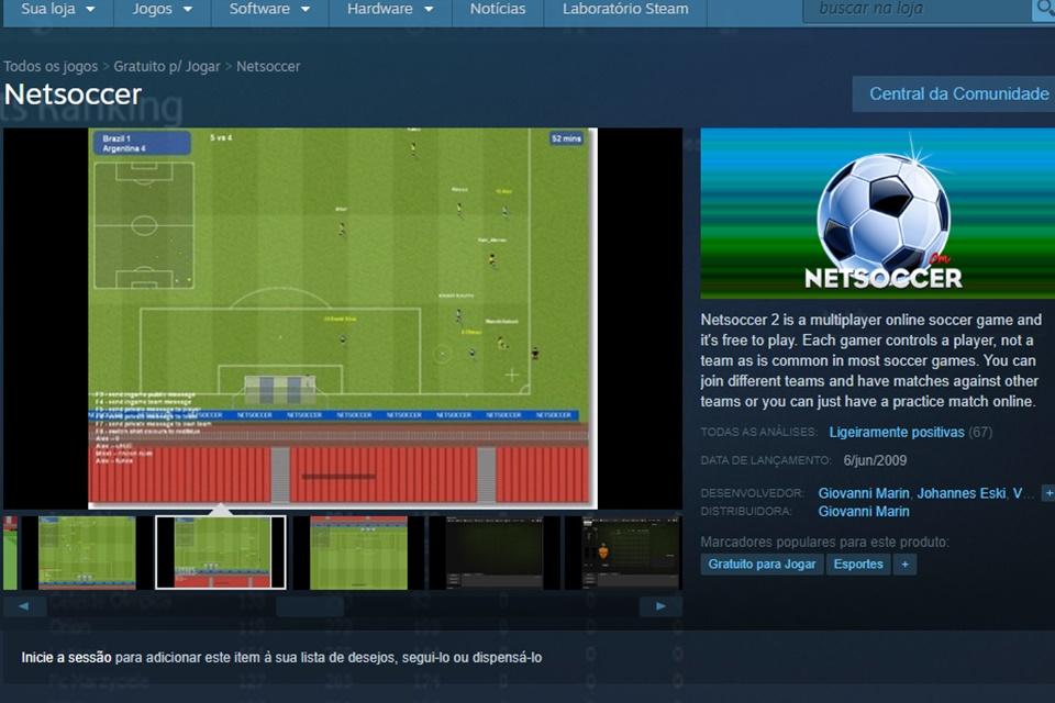 Netsoccer - Imagem 1 do software