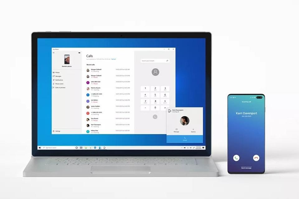 'Seu Telefone' agora mostra prévia de fotos de celulares Android no seu PC