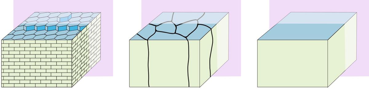 Representação de nanopartícula de nácar. (Fonte: Hovden Lab/ Pxhere