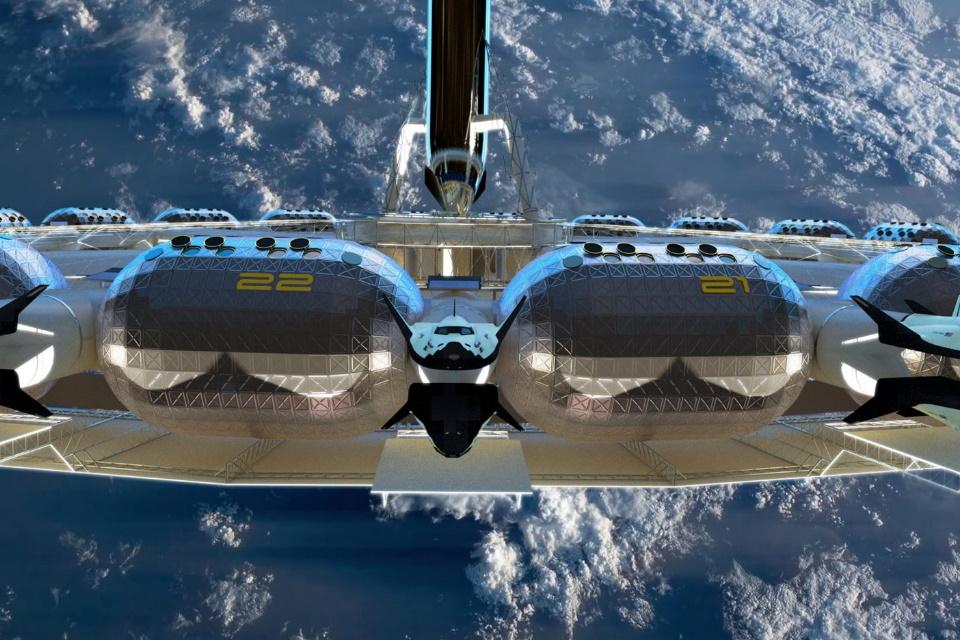 Hotel espacial está em desenvolvimento e pode ser lançado em 2025