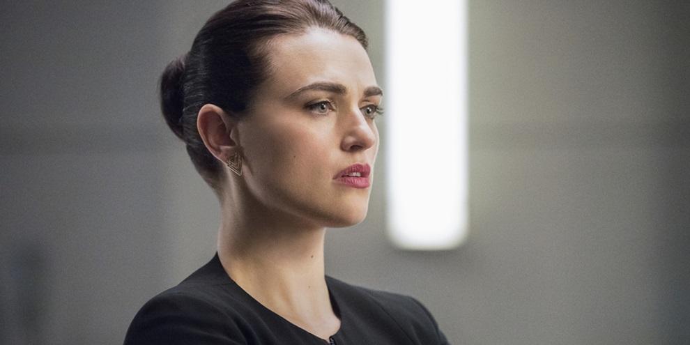 McGrath como Lena Luthor em SuperGirl (Fonte: Variety/Reprodução)