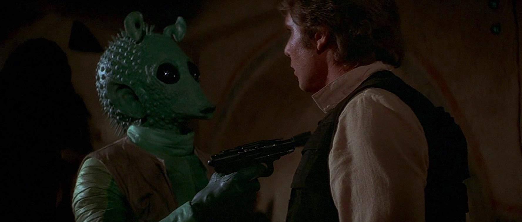 Star Wars: cena com Han Solo e Greedo é modificada no Disney+