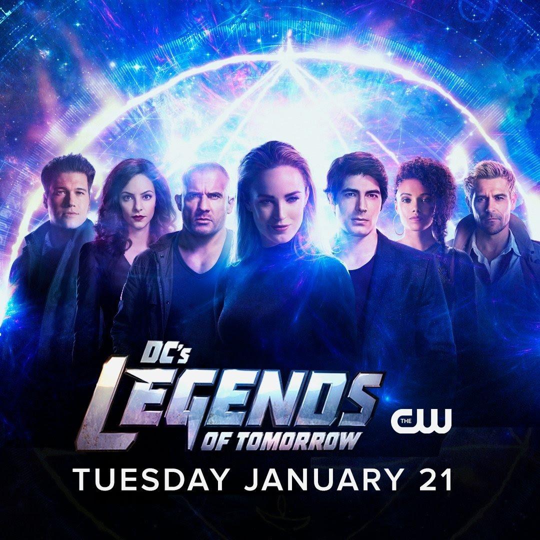 Legends Of Tomorrow: 5ª temporada ganha pôster e data de estreia