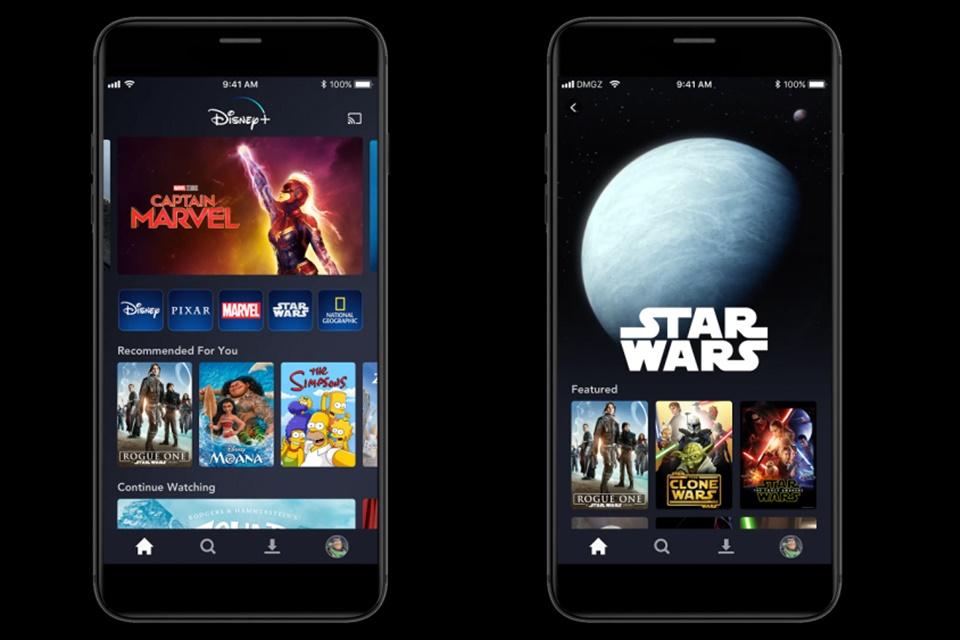 Disney+ já soma 10 milhões de assinantes e 3,2 milhões de downloads do app